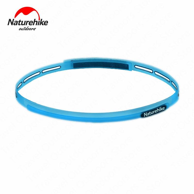 Naturehike-banda para el sudor, deportiva, banda para el sudor antideslizante, transpirable, cinta para la cabeza de silicona para baloncesto, Yoga, correr, deporte de senderismo