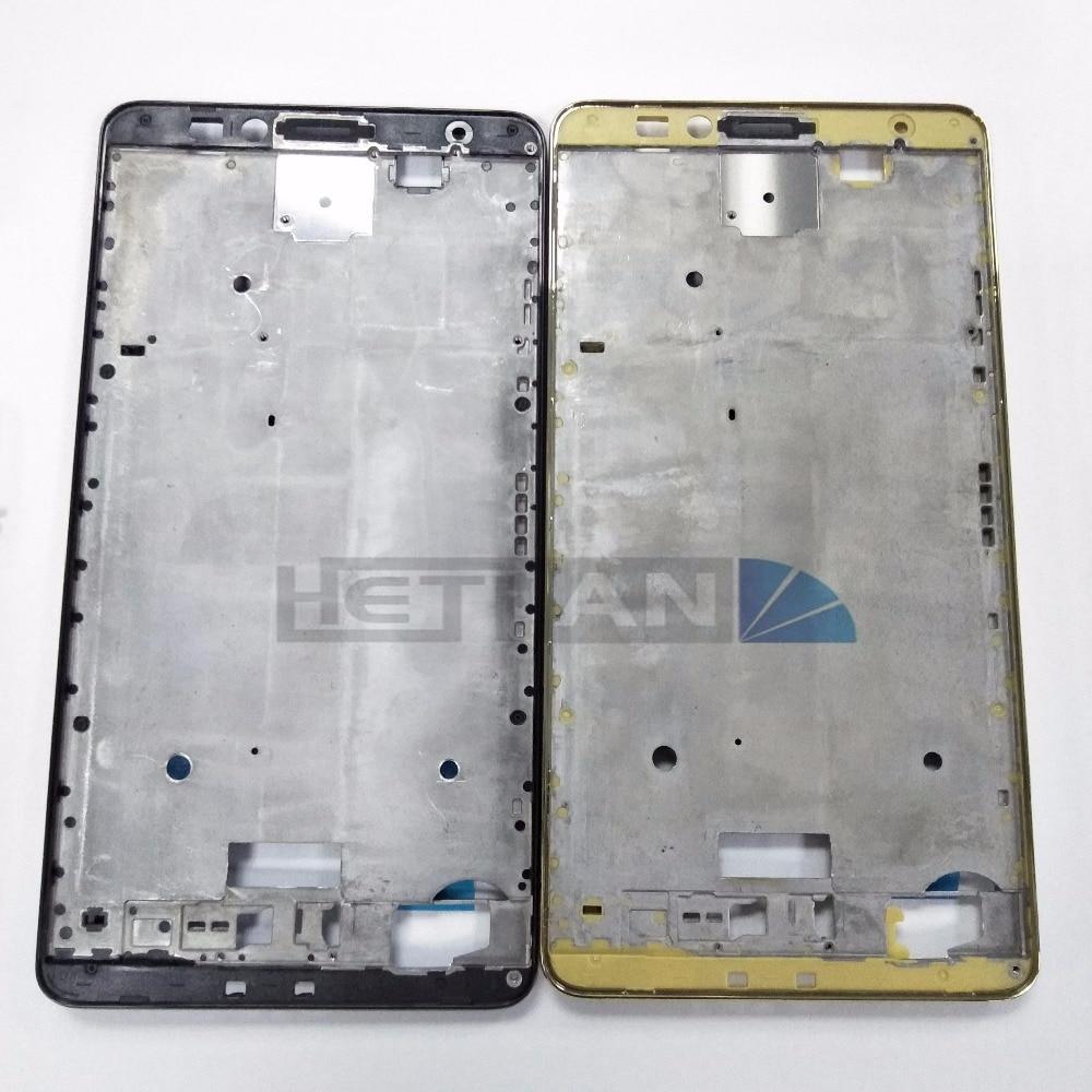 1 Uds. Para Huawei Ascend Mate 7 marco de bisel frontal pantalla LCD TP piezas de repuesto digitalizador Asamblea
