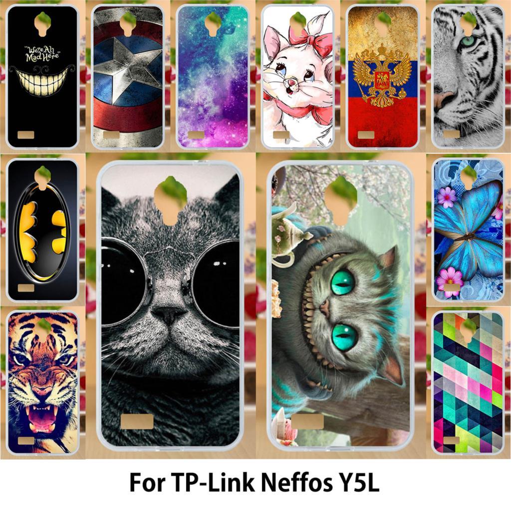 Anunob Case For TP-Link Neffos Y5L Cases TPU Soft Silicone  TP-LINK Neffos Y5L 4.5 inch