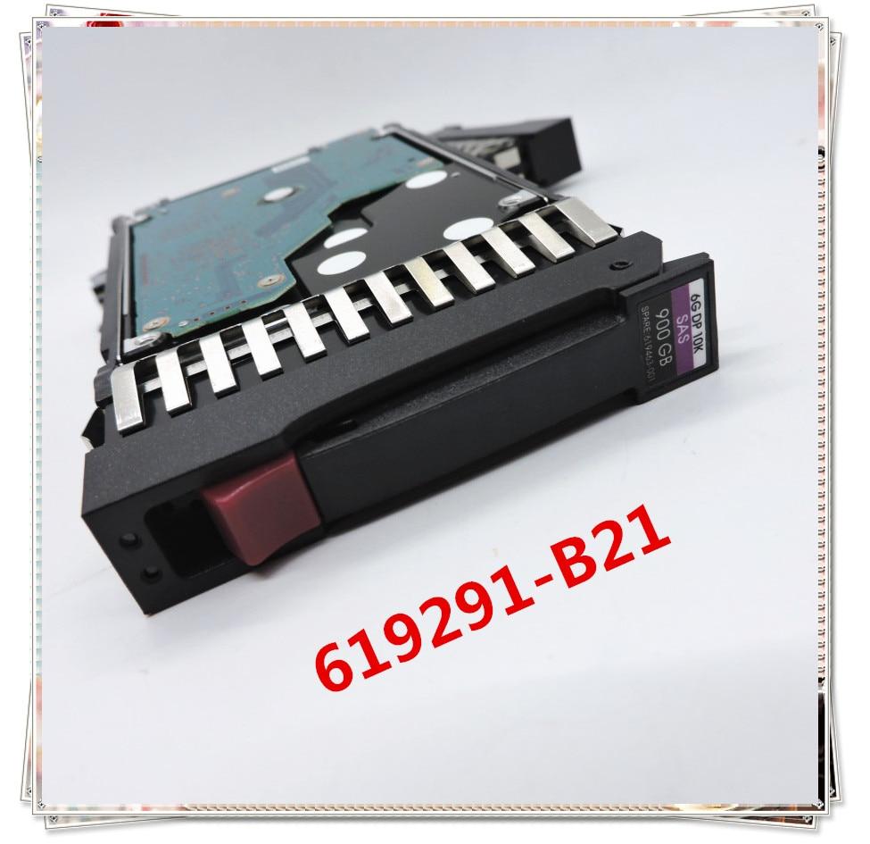 Nuevo en caja para 619291-B21 619463-001 900G 10K SAS 2,5 3 años de garantía