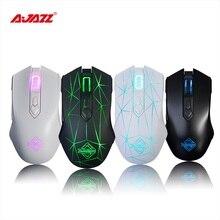 Ajazz AJ52 7 Modes rétroéclairés rvb 2 boutons latéraux bien conçus souris de jeu filaire souris de jeu professionnelle e-sport pour lol DOTA PC