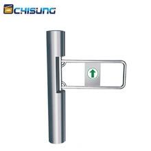 Barrière de supermarché sécurité électronique   Barrière de porte pivotante, tourniquet bidirectionnel pour lentrée des portes