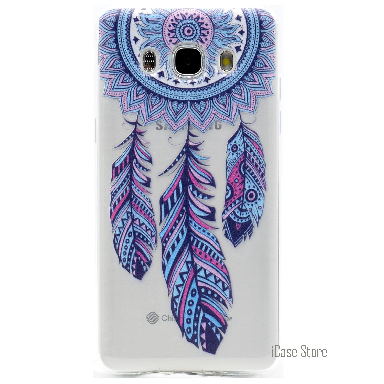 Funda de teléfono de dibujos animados bonitos de alta calidad para Samsung Galaxy J510 Soft Gel Phonet Casi Pone Csse funda Casa para Samsung J3 J5 J7 2016