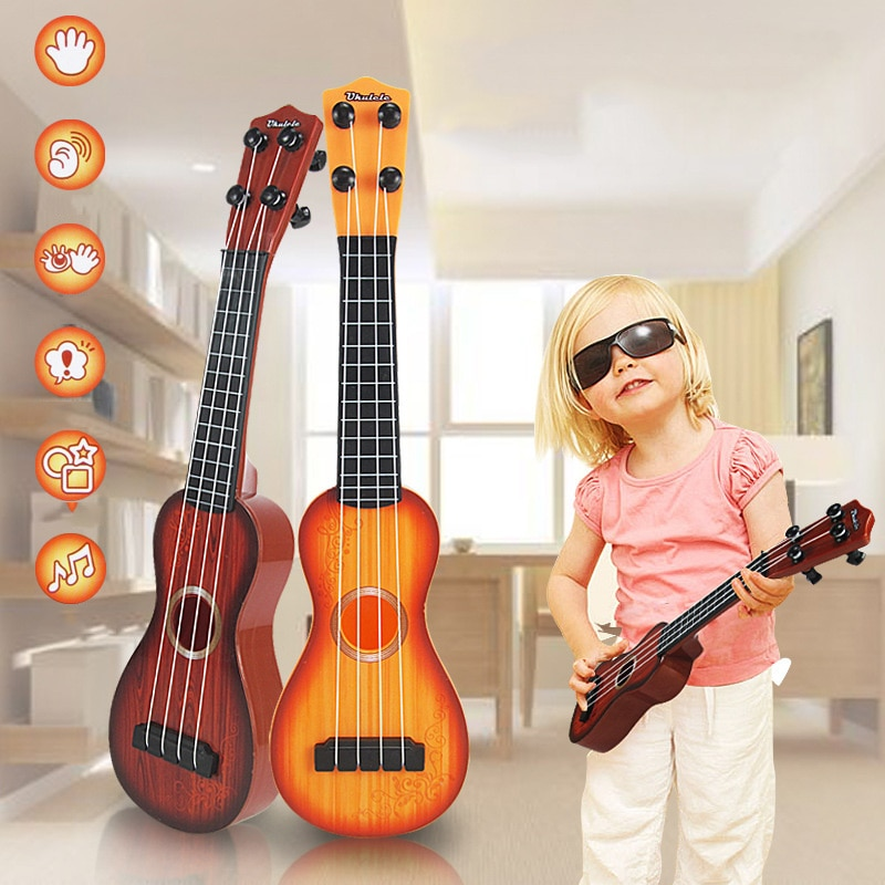 Children Toy Musical Plastic Instrument Educational Toys Baby Kids Educational Guitar Developmental