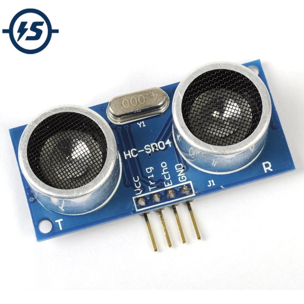 5 uds DC 5V Detector de onda ultrasónica módulo de detección de rango HC-SR04 Medición de distancia transductor de Sensor para Arduino