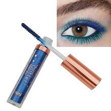 Ministar augen make-up bunte mascara 8 farben haar farbe farbstoff wasserdichte langlebige weiß lila blau mascara 4D wimpern MT016