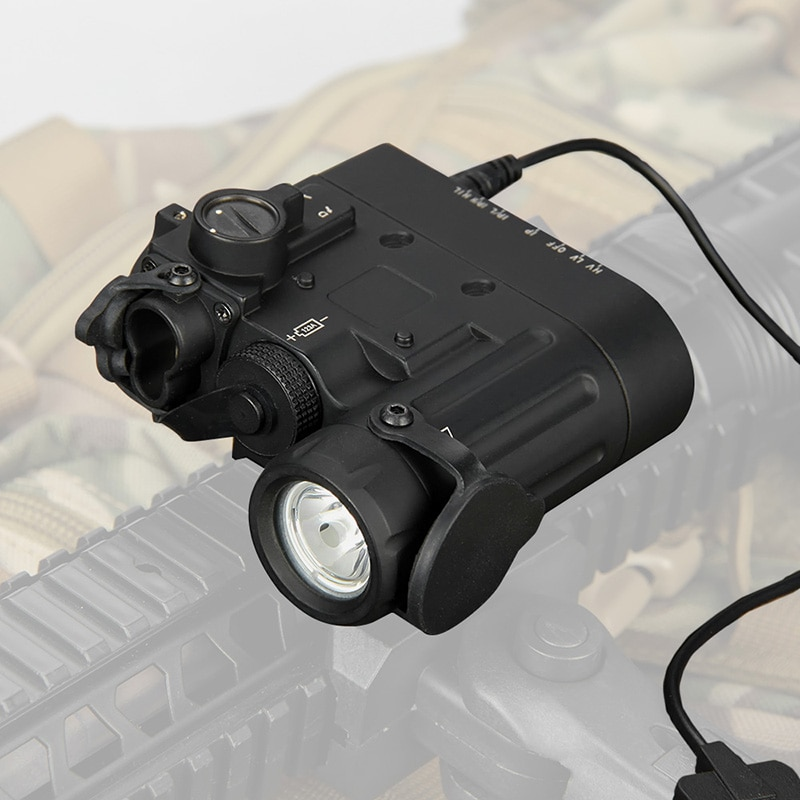 TRIJICON tactical airsoft flashlight DBAL-D2 Dual Beam Aiming Laser Red with IR LED Illuminator Class 1 gz15-0088