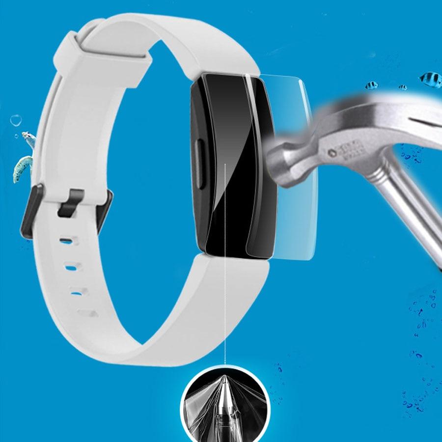 Защитная пленка для экрана из ТПУ с защитой от царапин для Fitbit Inspire/Inspire Hr Smart Band ультратонкая Защитная пленка для экрана HD Full