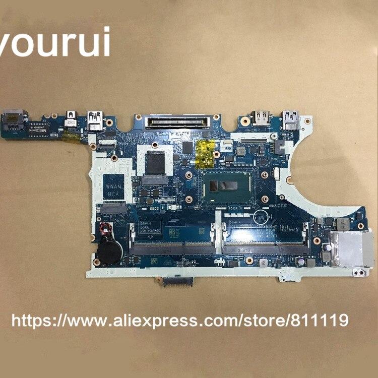 Yourui لديل خط العرض للوحة الأم E7450 TFVF9 0TFVF9 CN-0TFVF9 I5-5300U LA-A961P