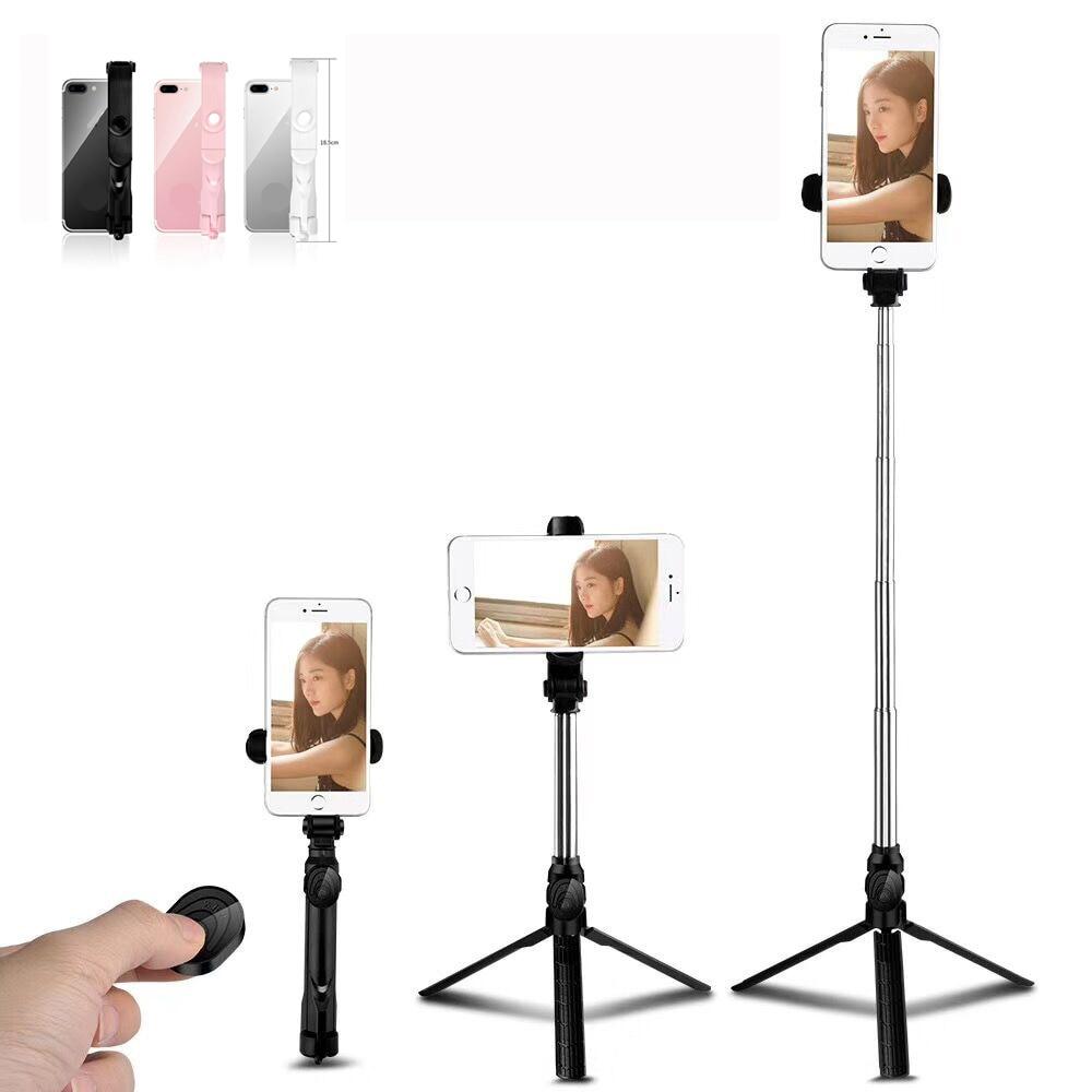 Palo de Selfie Bluetooth cardán de mano para Huawei Xiaomi 9 Redmi Note 7 Pro Smartphone iPhone 5s 8 X p20 Samsung 360 trípode