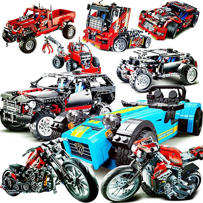 Modelo decorativo de motocicleta 110, juego de bloques de construcción, juguetes de ladrillo para niños, regalos con instrucciones