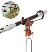 Support en métal pour canne à pêche en acier inoxydable, poignée réglable, Support, Support, accessoires pour canne à poisson