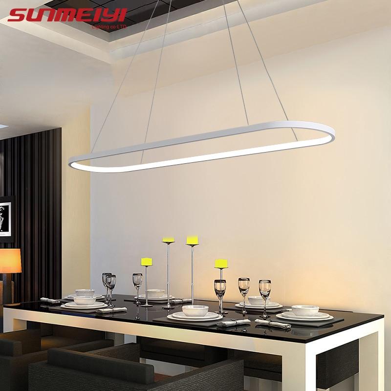Modern LED Pendant Lights lustres e pendentes para sala de jantar Living room kitchen Indoor Lighting luminaria led Nordic Lamp