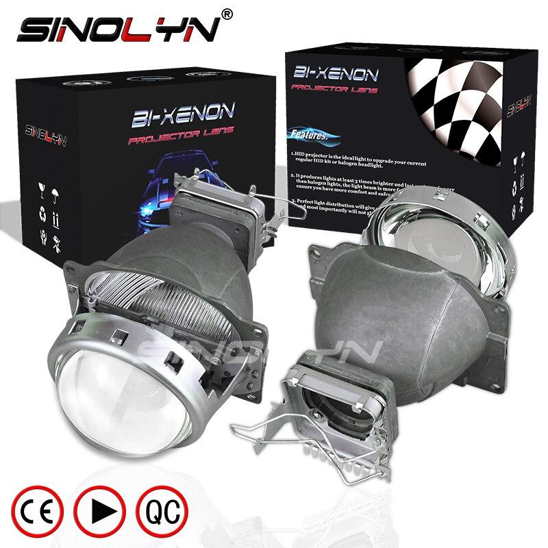 Lentes de faro Sinolyn 3,0 Koito Q5 lente bi-xenón D1S D2S D2H D3S D4S HID proyector para luces de coche Accesorios Estilo de reacondicionamiento