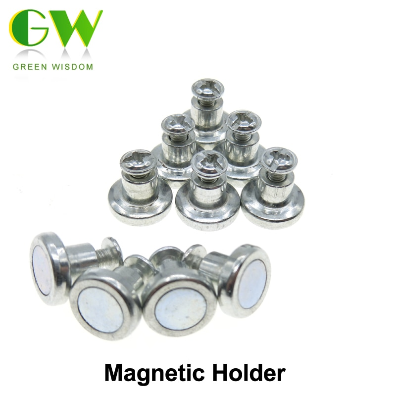 Magnetic Screw Holder For Cabinet Lights / Led Bar Light 10pcs/lot