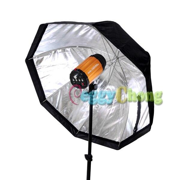 80 см/32 дюйма восьмиугольник софтбокс Selens зонтик отражатель soapbox для вспышки/вспышки с номером отслеживания