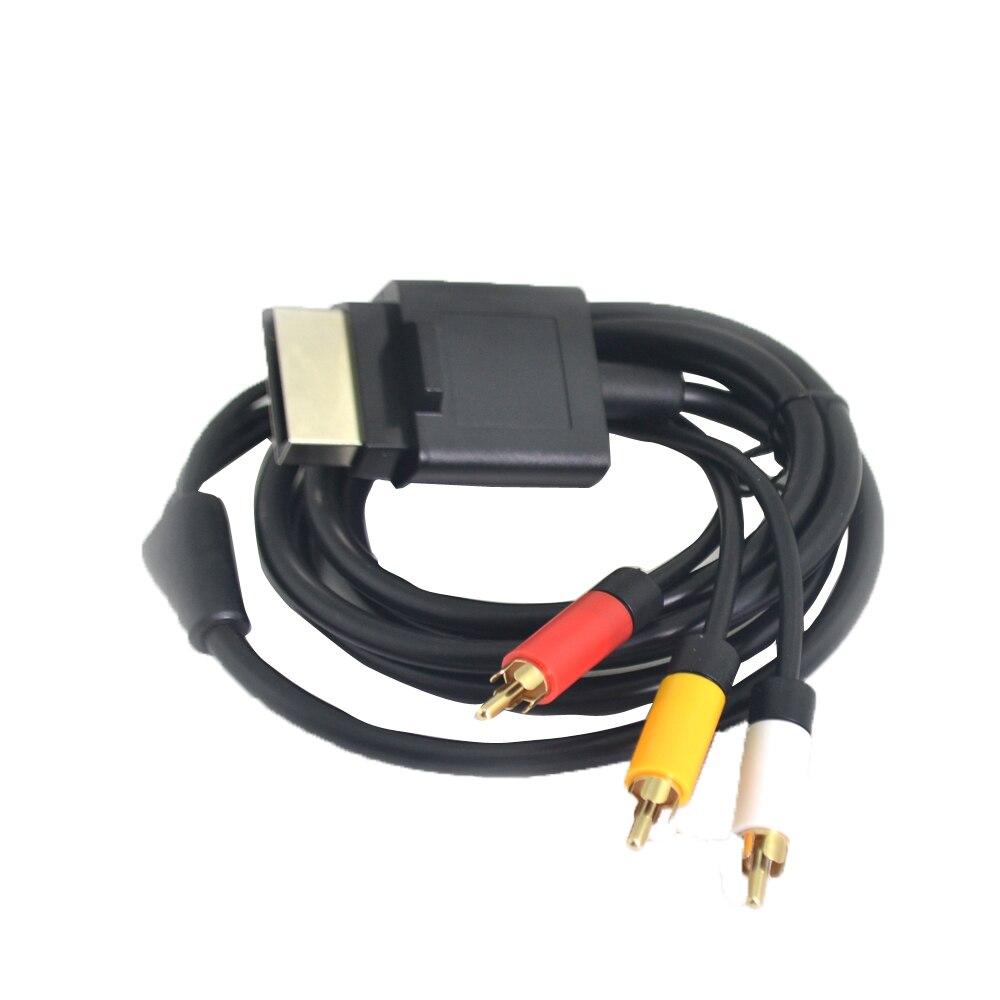 10 piezas por lote 1,8 M/6ft VGA componente Cable de Audio Cable...