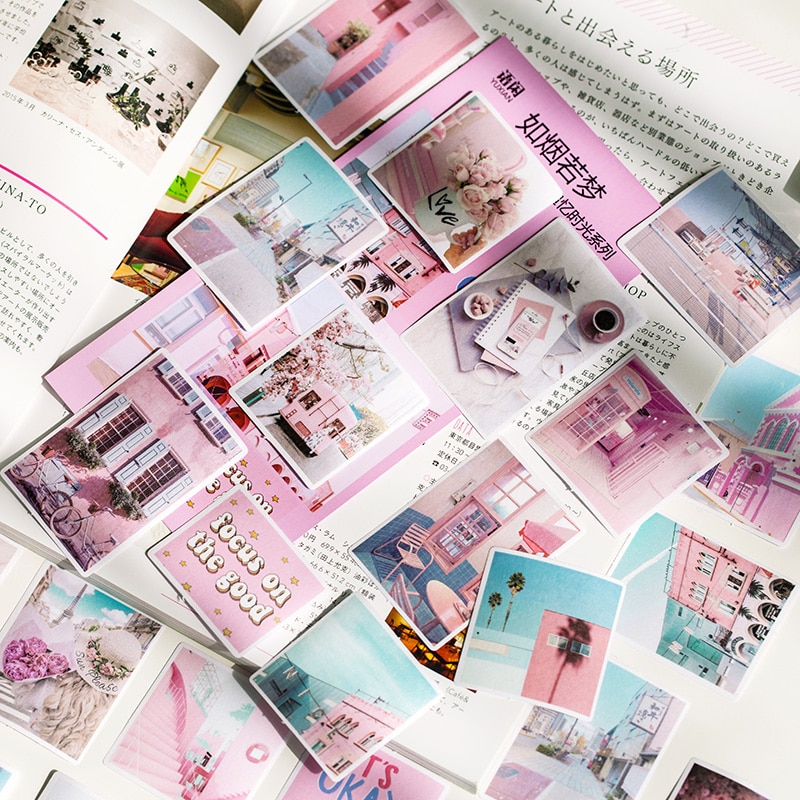 70 unidades/pacote gardenia série bullet journal decorativo washi adesivos scrapbooking vara etiqueta diário papelaria álbum adesivos