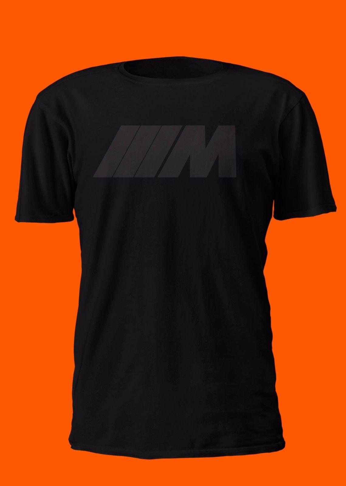 2019 Hot sale Fashion Car Racer Fans M BADGE SHIRT M3 M5 M6 EURO IMPORT GERMAN BIMMER T-SHIRT S M L XL 2XL Tee shirt