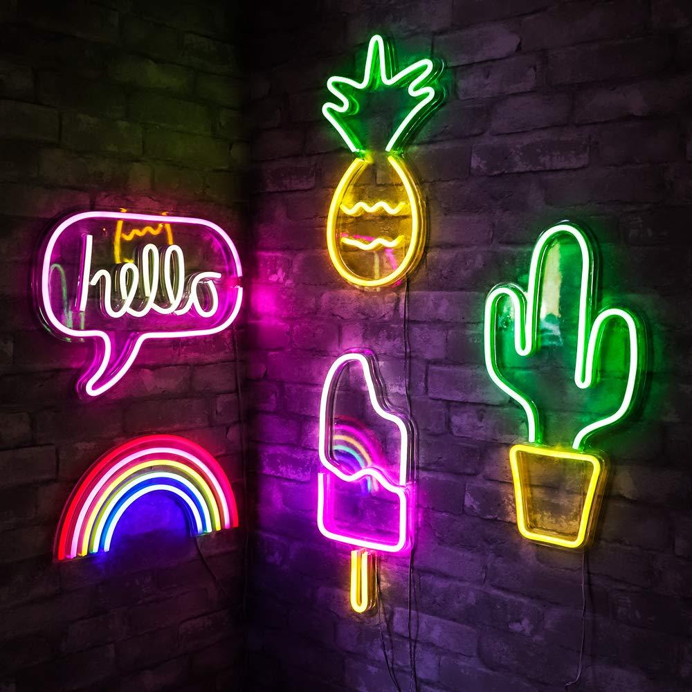 Бар неоновый свет для вечеринки настенный светодиодный неоновый знак для рождественского магазина художественный декор для стен неоновые ...