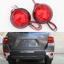 Réflecteur de pare-chocs arrière pour Toyota Highlander   Feu rouge, feu arrière, avertissement de stationnement, 2009-2011 Fortuner Voxy Mitsubishi ASX