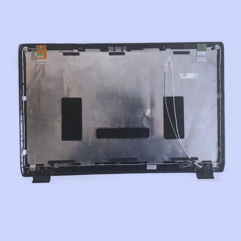 New Black Original Laptop Top Cover/tampa traseira do LCD Para SAMSUNG NP RC530 RC528 RF511 RF510