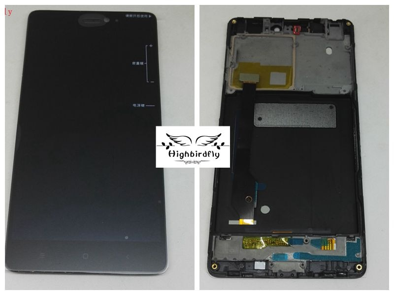 Para Xiaomi Mi4c pantalla Lcd con marco digitalizador de cristal táctil piezas de repuesto