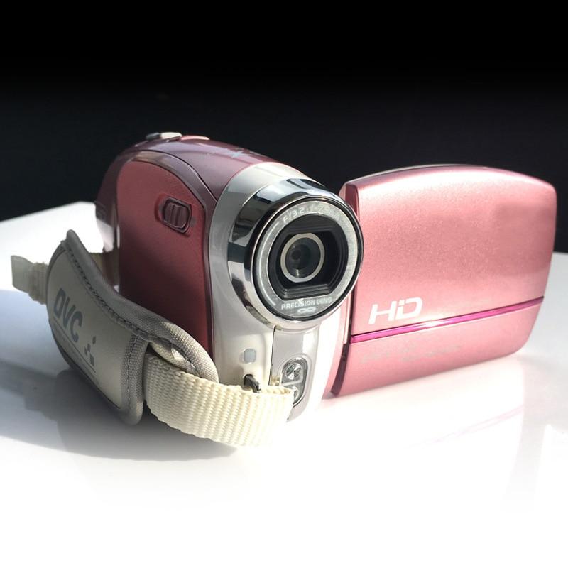 Hd câmera digital vídeo 2.5 polegada lcd tela de rotação portátil dv gravação vídeo digital zoom câmeras dvc50