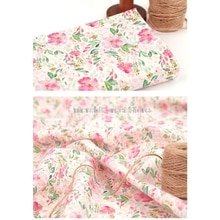 imported high quality plain cotton fabric, digital printing manual DIY clothing dress baby clothes f