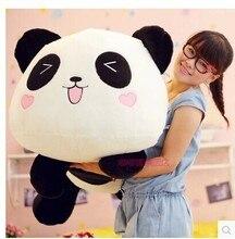 large 80 cm panda plush toy lovely lying panda doll birthday gift w6835
