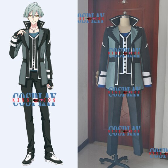 [Customize]Anime IDOLiSH 7 ZOOL figure Isumi Haruka SJ Uniform Halloween Cosplay costumes for Adult NEW free ship