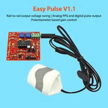 Elecrow Easy Pulse V1.1 bricolage capteur dimpulsions fréquence cardiaque Module électronique Kit pour les fabricants passe-temps Applications éducatives