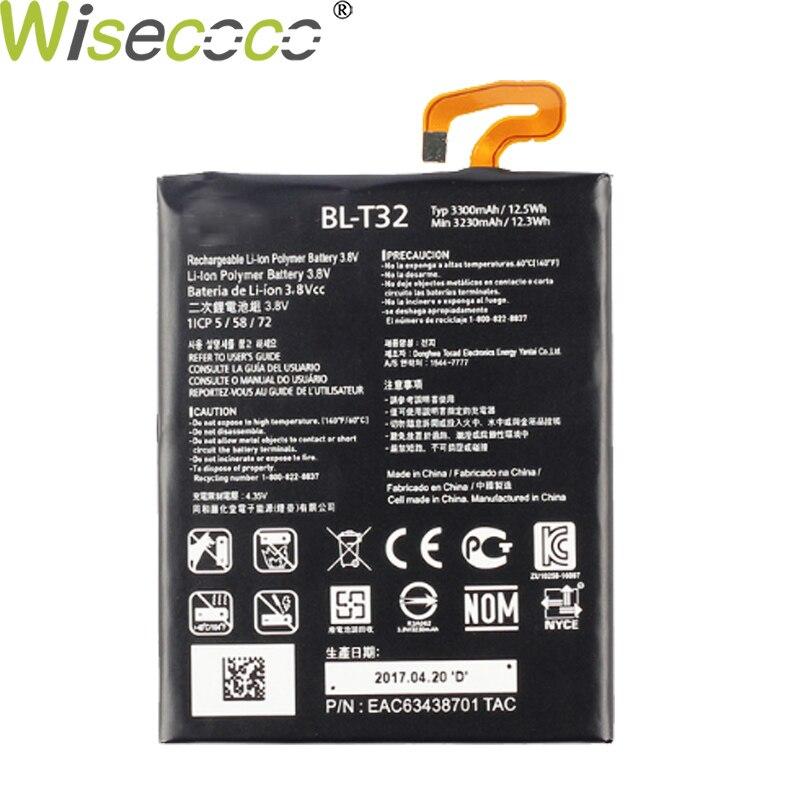 Wisecoco Original nuevo 3300/4000mAh BL-T32 batería para LG G6 G600L G600S H870 H871 H872 H873 LS993 US997 VS988 Teléfono de alta calidad