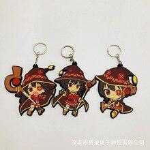 IVYYE 1PCS Subarashii Girl Anime Key Chain PVC Figure Keyring cute Toys Keychain Keyholder Birthday Gifts Unisex NEW