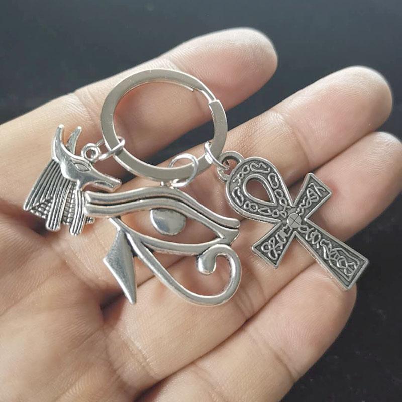 Брелок для мужчин и женщин, брелок в форме Креста