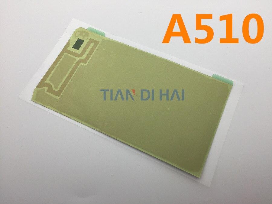 10 unids/lote Original LCD Repair Back adhesivo pegamento cinta para Samsung Galaxy A5 2016 A510 A510F