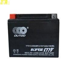 TDPRO batterie de vélo AGM 900 12V 10AH   Pour Honda TRX250 CH250 CN250 Yamaha TDM850 YZF750R Kawasaki Vulcan classique, Original