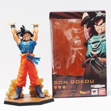 Retail 1pcs Japanese Anime Dragon Ball Z Son Goku Spirit Bomb Ver PVC Action Figure Toy 16cm Free Shipping