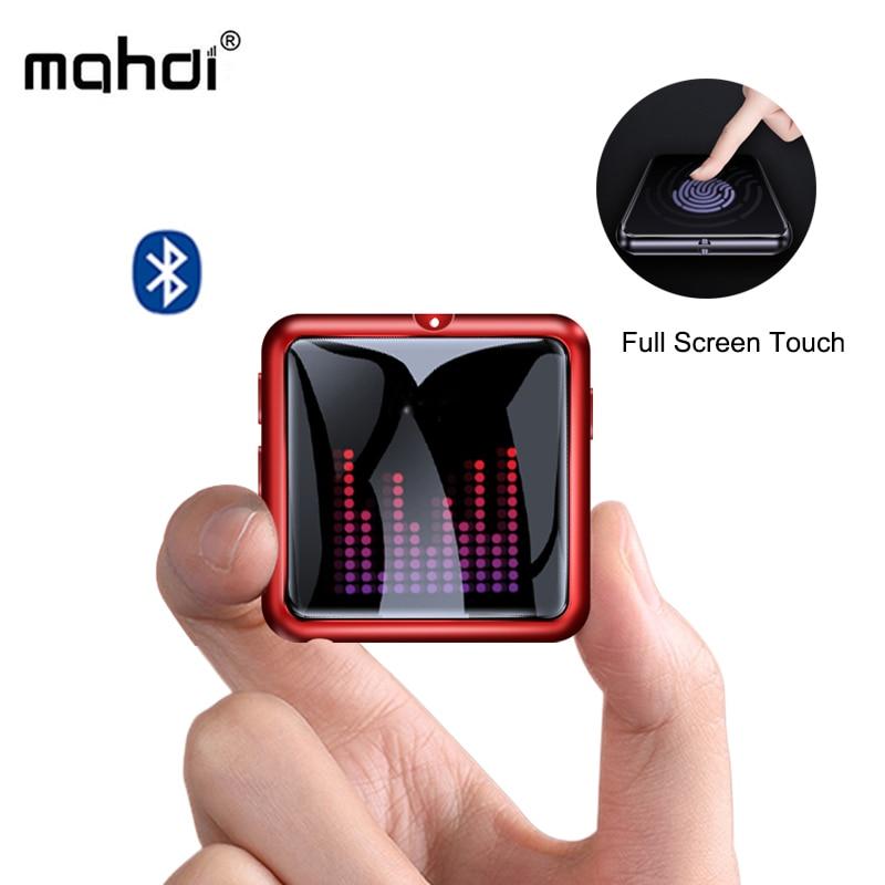 Reproductor Mahdi M260 Mp3 Bluetooth 4,1 grabadora de voz reproductor de música Mp3 pantalla táctil portátil HIFI USB metálico tarjeta TF Fm Video Mini