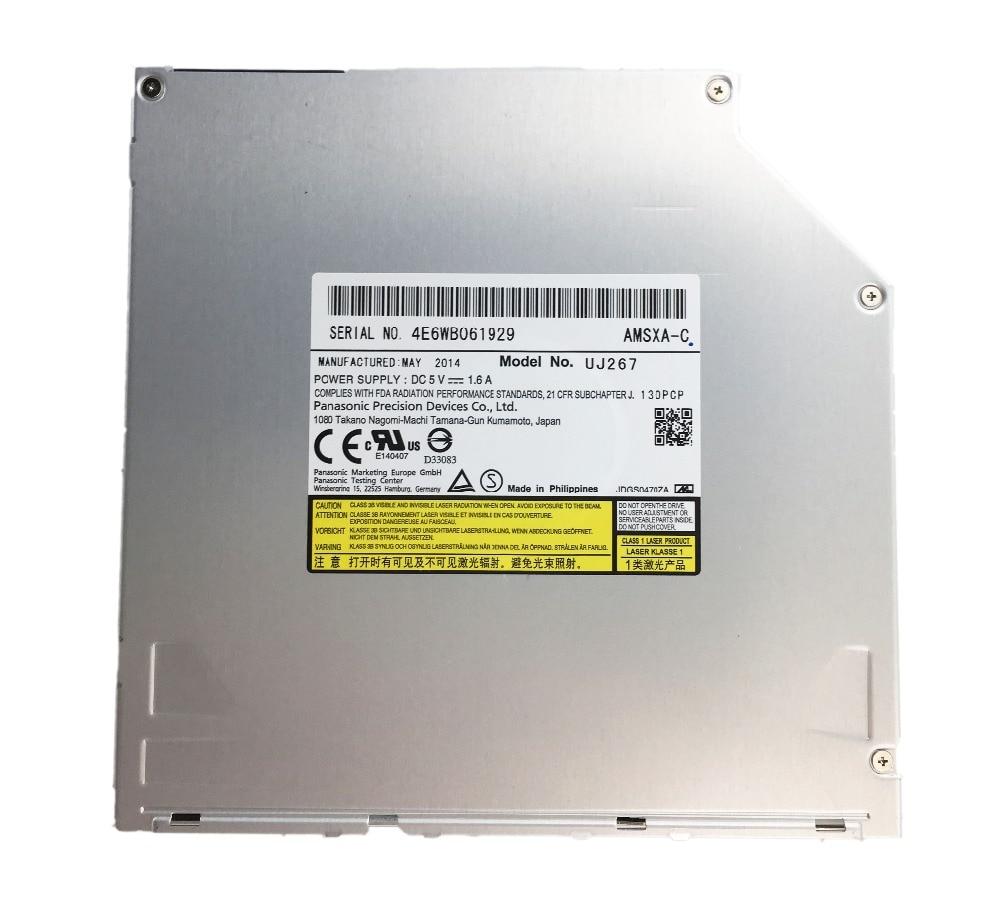 Original nuevo bluray conducir interna BD-RE uj-267 6X SATA 9,5mm grabadora blu-ray para Panasoni UJ267 SATA en Blu ray quemador