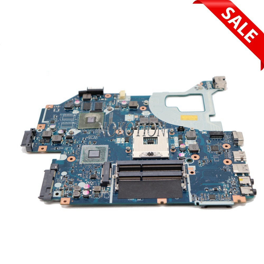 NOKOTION laptop motherboard para ACER Aspire E1-571G V3-571G V3-571 NBM6B11001 Q5WV1 LA-7912P 710M GPU HM77 PGA989 DDR3