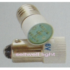 Lâmpada led 6 v e10/ba9s t10x24 a509 bom 10 pces sellwell iluminação