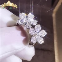 100 18k 750au gold moissanite diamond ring wedding ring d color vvs with national certificate mo h1009