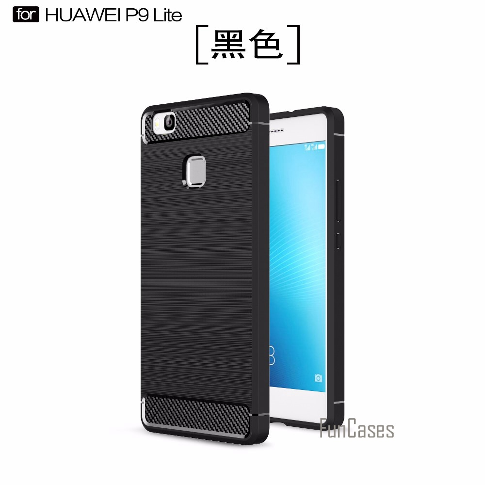 Suave de caso de la sFor fundas Huawei P9 Lite cubierta de...