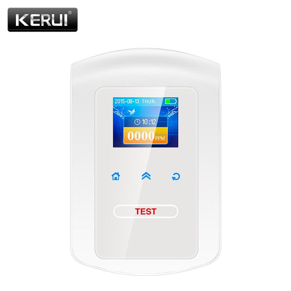 KERUI GD23 hogar cocina seguridad Combustible LPG Detector de Gas LNG carbón fuga de Gas Natural alarma Sensor con alarma de voz
