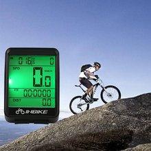Fil sans fil vélo ordinateur vélo LED compteur de vitesse compteur kilométrique rétro-éclairage écran LCD tachymètre étanche
