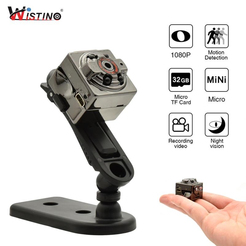 Wistino Mini Camera Full HD 1080P Voice Video Recorder Nanny Motion Sensor DV Digital Small Video Camera Infrared Night Vision