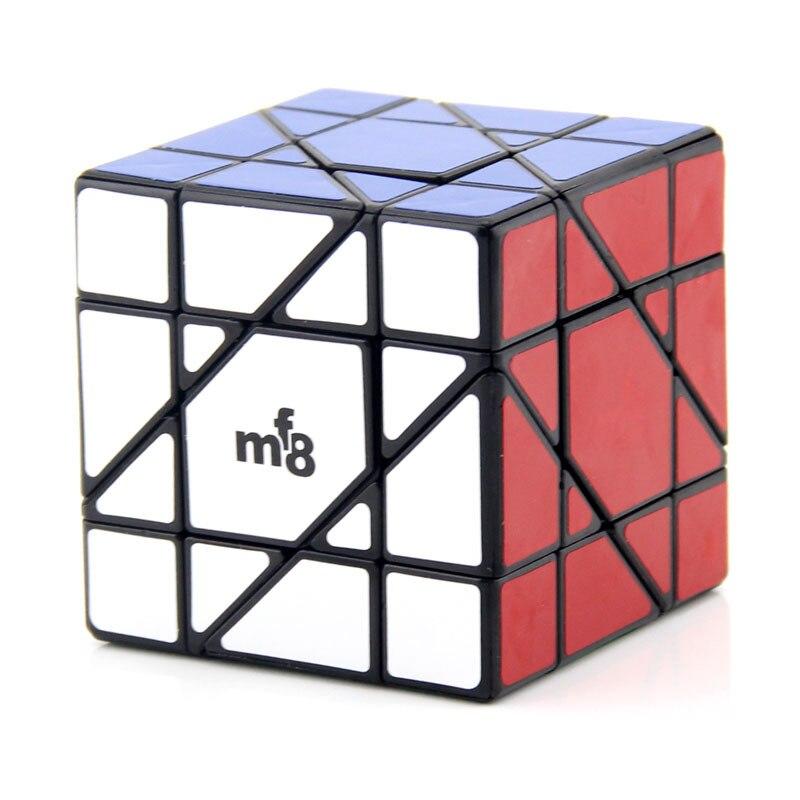 MF8 Unicórnio Hexaedro Puzzle Cube Preto/whiteSouptoys