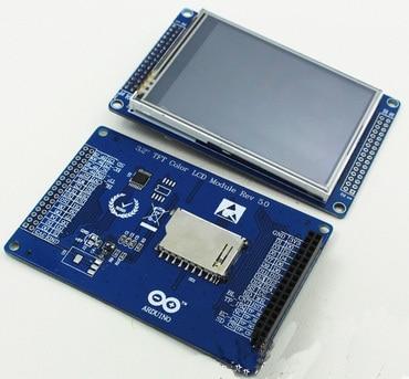 NoEnName_Null STM32 3,2 pulgadas HD táctil TFT LCD Módulo de Color SSD1289/ILI9320/ILI9341/ILI9325 IC 240*320