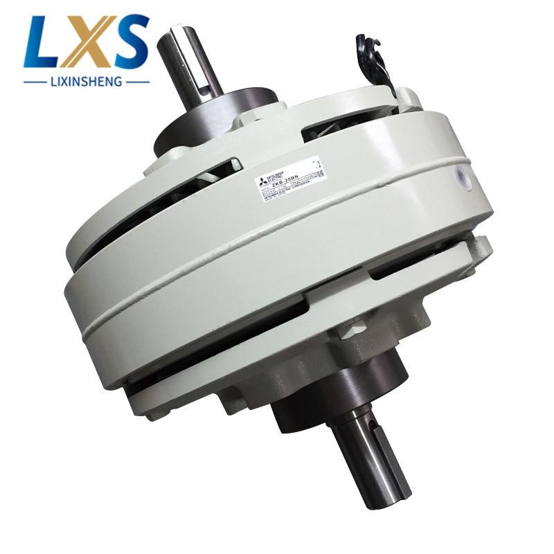 200(N.m)/59kg Two Shaft Magnetic Powder Clutch & Brakes ZKB-20BN Magnetic Powder Clutch For Printing Machine